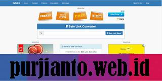 Cara membuat safelink untuk blog