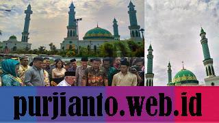 peresmian masjid agung sangatta