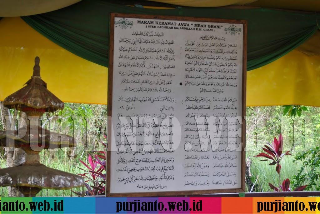 Ziarah ke Makam Syekh Fadillah Bin Abdillah RM. Ghani Sangatta Selatan