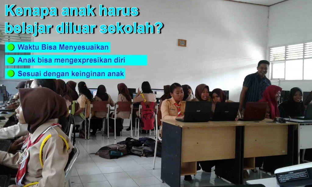 Kenapa anak harus belajar diluar sekolah?