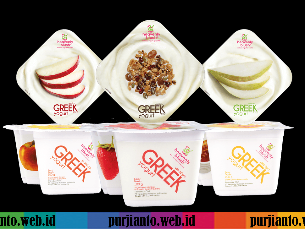 Greek Yogurt Tinggi Protein Dari Heavenly Blush