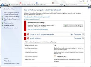 Cara Blokir Firewall di Window 7