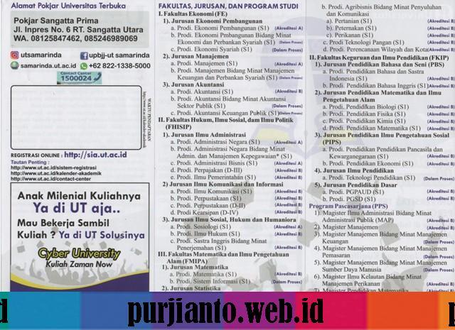 daftar universitas terbuka