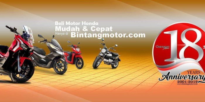 Dealer Motor Honda No 1 di Indonesia