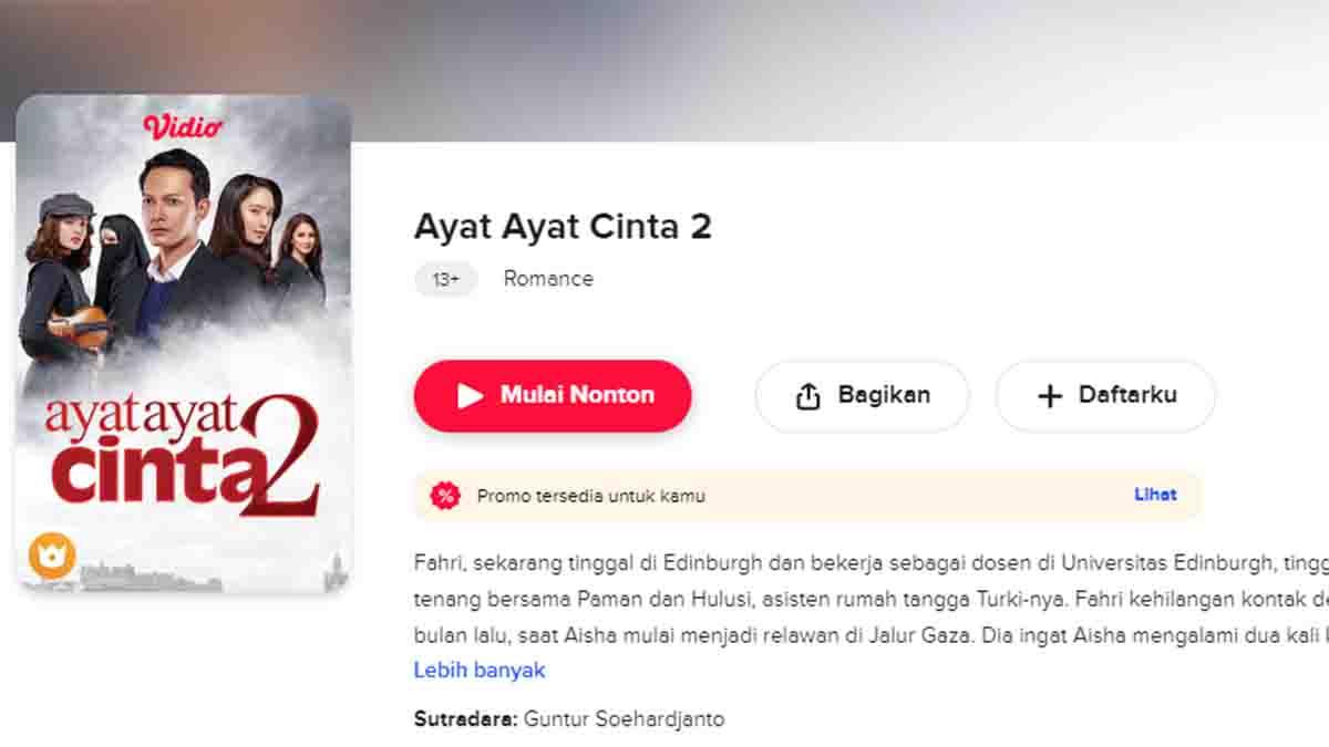Rekomendasi Film Romantis Terbaik, Dari Film Indonesia Hingga Drama Korea